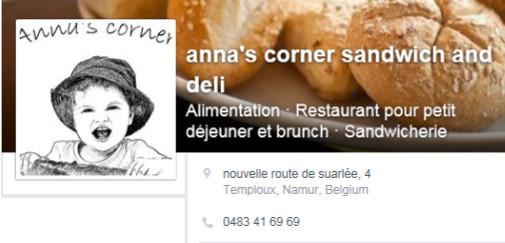Anna's corner